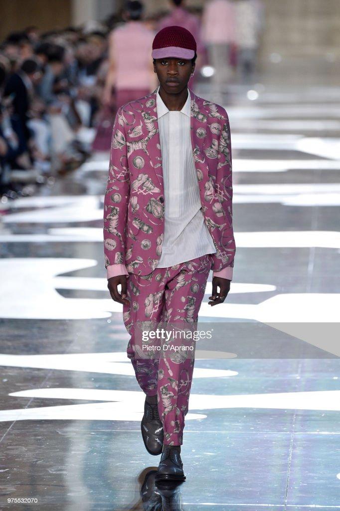 Ermenegildo Zegna - Runway - Milan Men's Fashion Week Spring/Summer 2019 : Foto di attualità