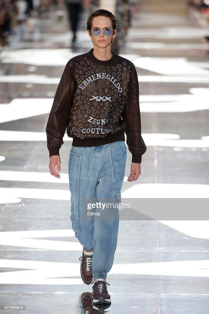Ermenegildo Zegna - Runway - Milan Men's Fashion Week Spring/Summer 2019 : News Photo