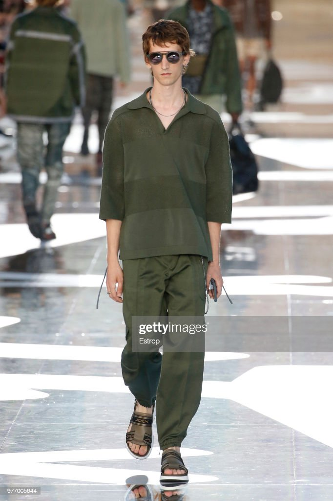 Ermenegildo Zegna - Runway - Milan Men's Fashion Week Spring/Summer 2019 : Nieuwsfoto's