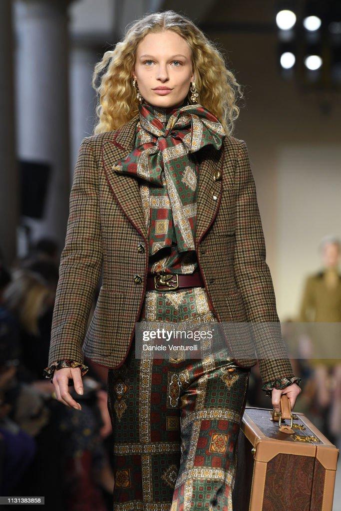 ITA: Etro - Runway: Milan Fashion Week Autumn/Winter 2019/20