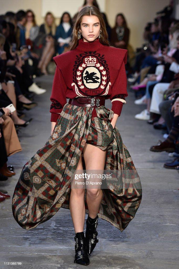 Etro - Runway: Milan Fashion Week Autumn/Winter 2019/20 : News Photo