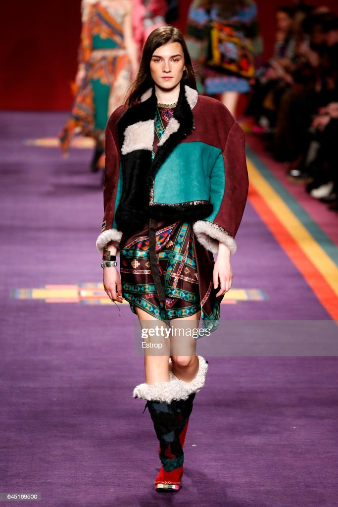 Etro - Runway - Milan Fashion Week Fall/Winter 2017/18 : News Photo