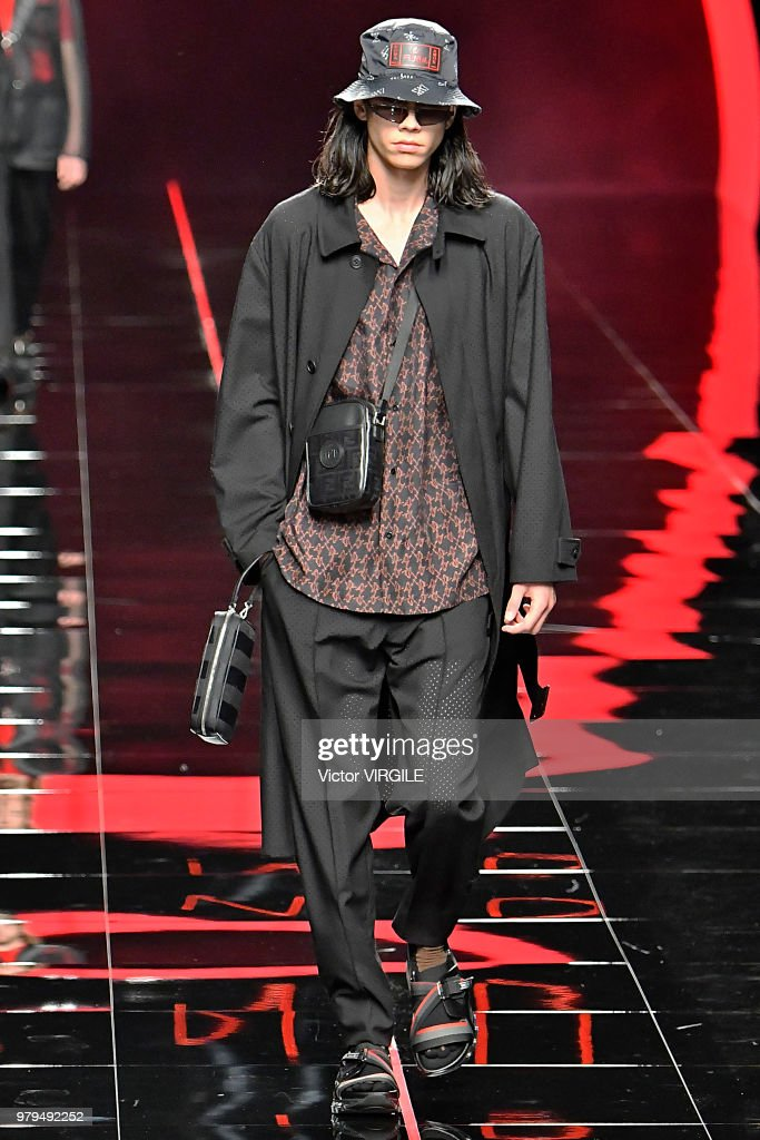 Fendi - Runway - Milan Men's Fashion Week Spring/Summer 2019
