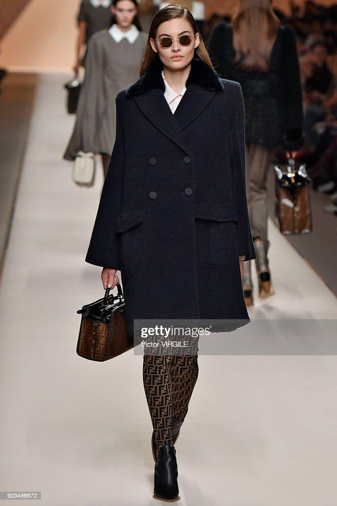 Fendi - Runway - Milan Fashion Week Fall/Winter 2018/19 : Nieuwsfoto's