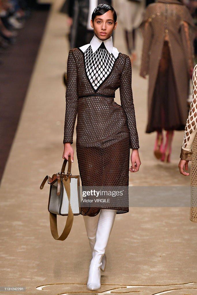 Fendi - Runway - Milan Fashion Week Autumn/Winter 2019/20 : News Photo