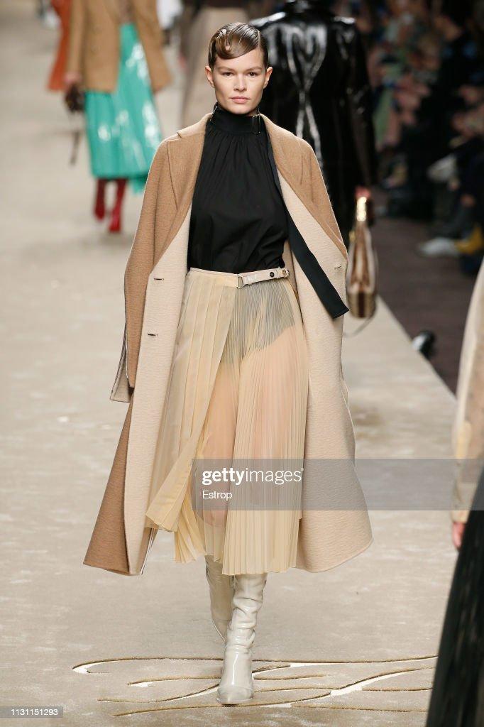 Fendi - Runway: Milan Fashion Week Autumn/Winter 2019/20 : News Photo
