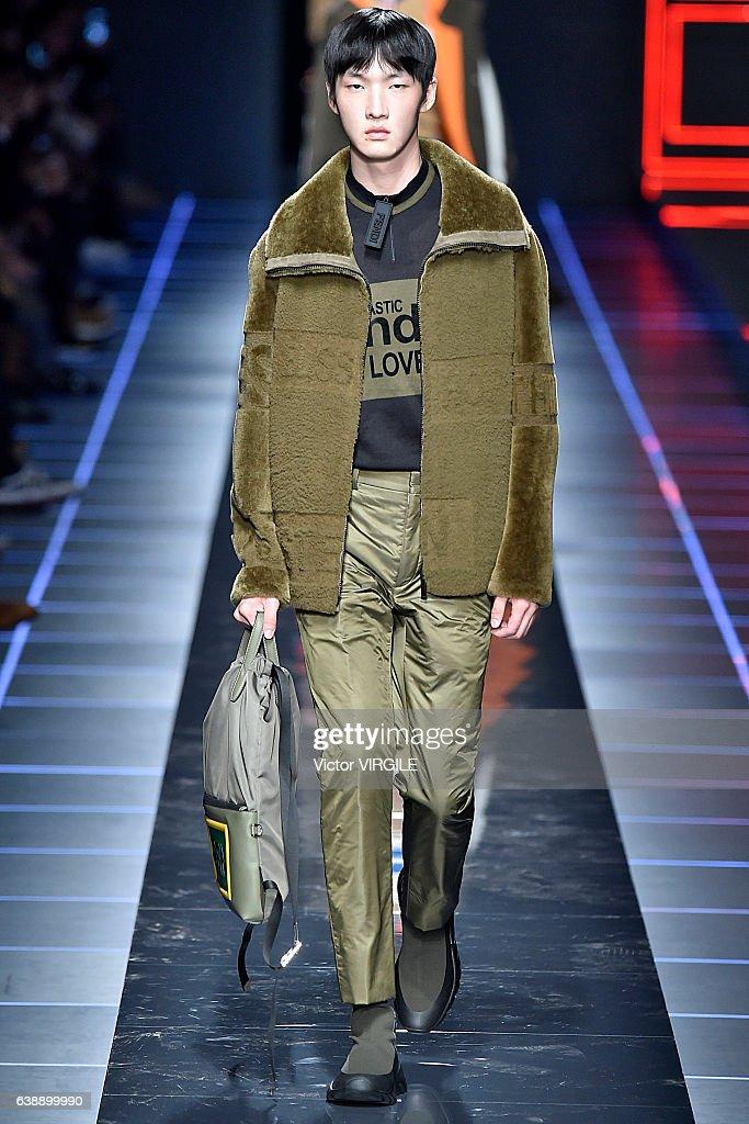 0b27a1f7a9e Fendi - Runway - Milan Men s Fashion Week Fall Winter 2017 18   News