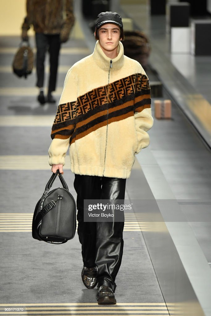 88a5ca72b27 Fendi - Runway - Milan Men s Fashion Week Fall Winter 2018 19   News