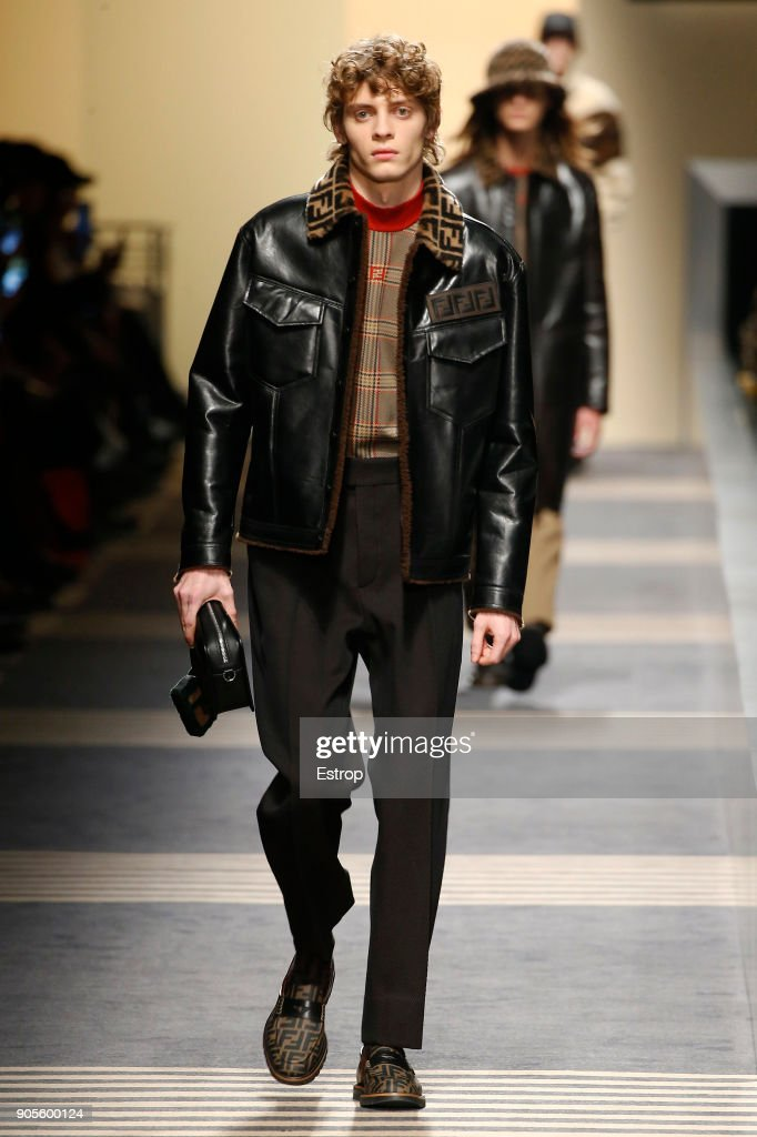 Fendi - Runway - Milan Men's Fashion Week Fall/Winter 2018/19 : ニュース写真