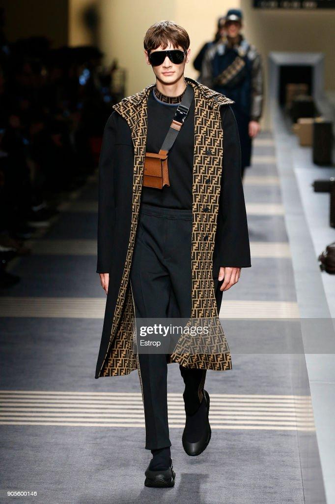 Fendi - Runway - Milan Men's Fashion Week Fall/Winter 2018/19 : Nyhetsfoto