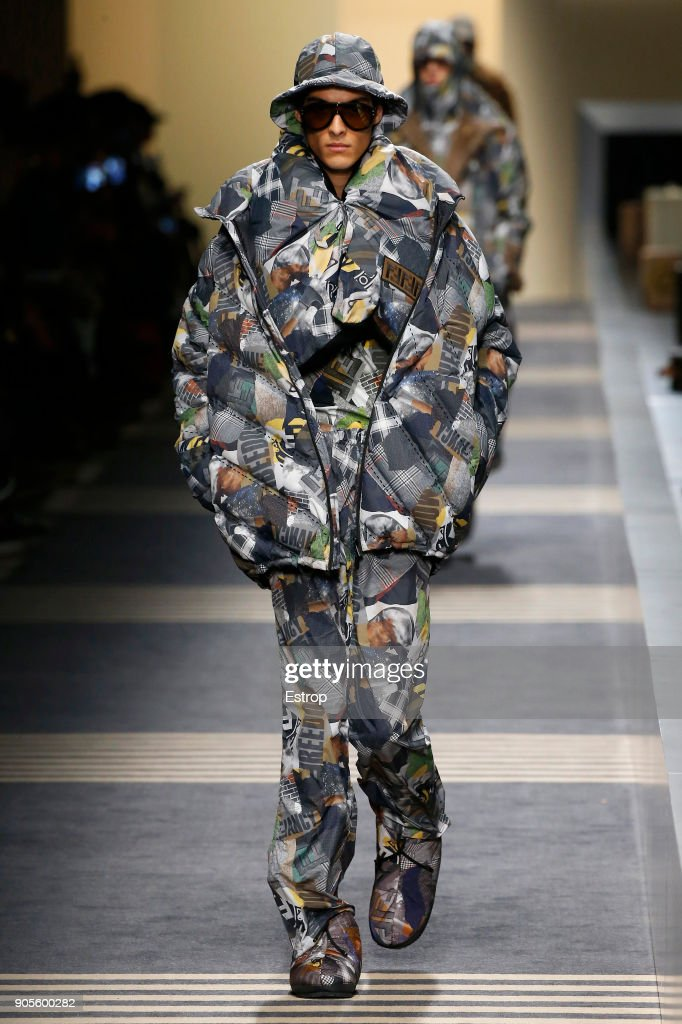 Fendi - Runway - Milan Men's Fashion Week Fall/Winter 2018/19 : News Photo