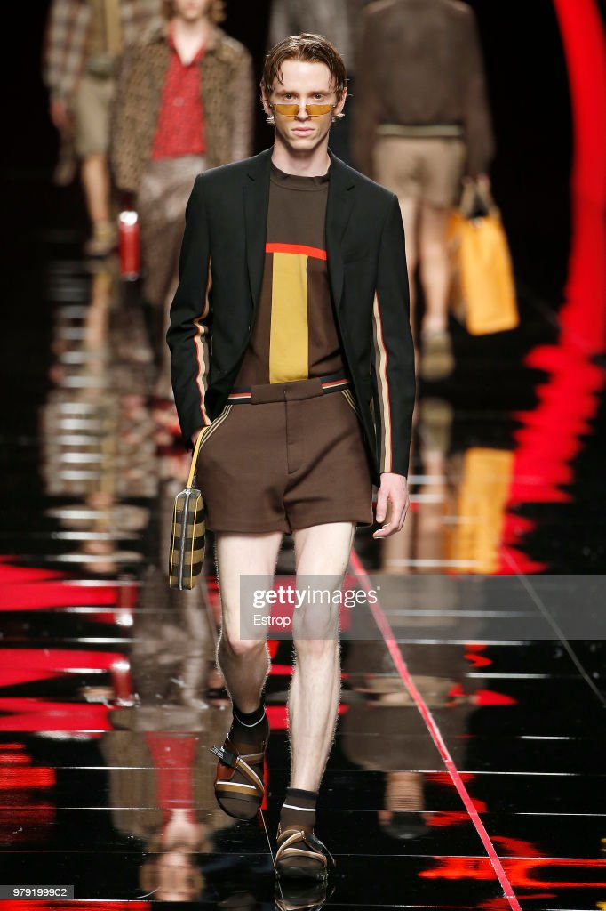Fendi - Runway - Milan Men's Fashion Week Spring/Summer 2019 : News Photo