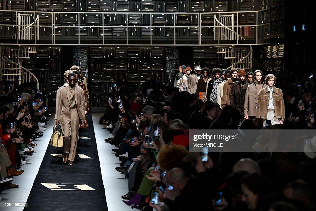 Fendi - Runway - Milan Men's Fashion Week Autumn/Winter 2019/20 : ニュース写真