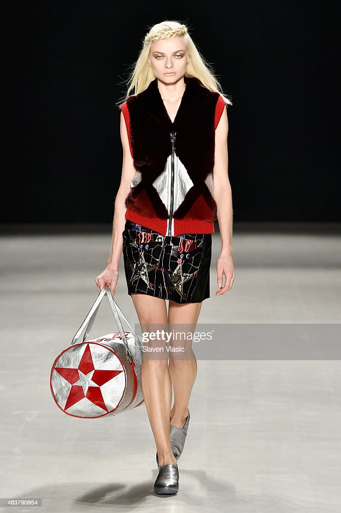 Francesca Liberatore - Runway - Mercedes-Benz Fashion Week Fall 2015 : News Photo