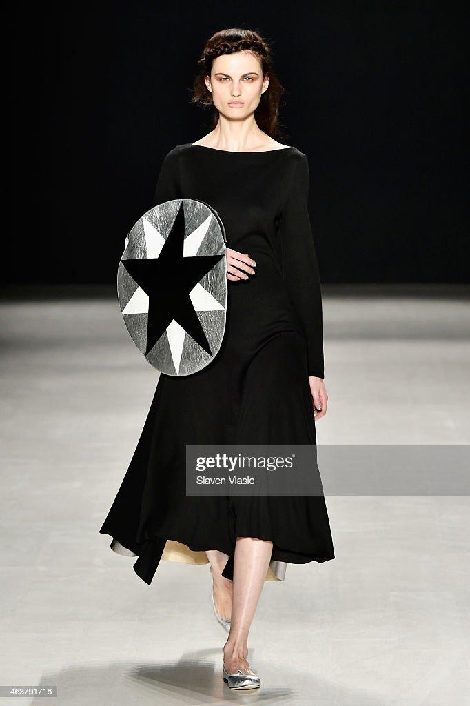 Francesca Liberatore - Runway - Mercedes-Benz Fashion Week Fall 2015 : News Photo