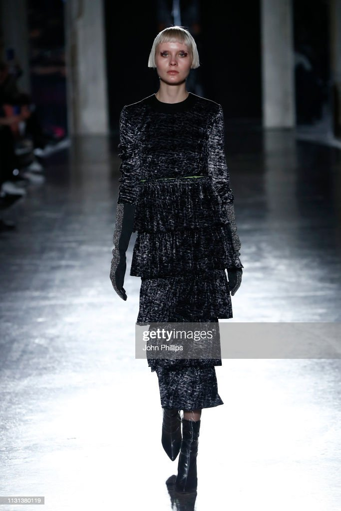 ITA: Francesca Liberatore - Runway: Milan Fashion Week Autumn/Winter 2019/20