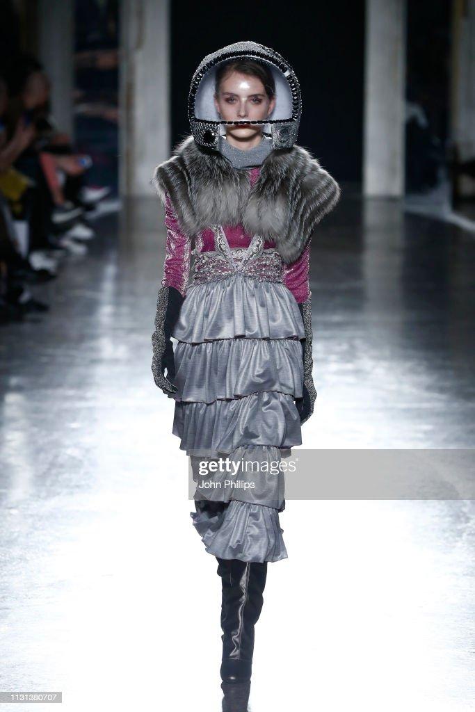 ITA: Francesca Liberatore - Runway: Milan Fashion Week Autumn/Winter 2019/20