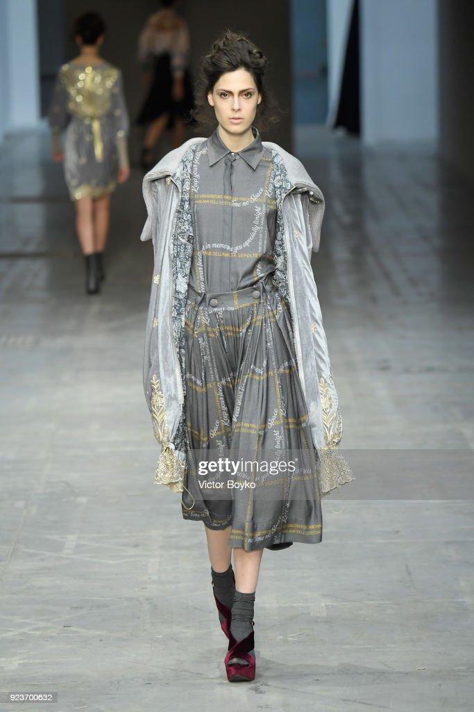 Francesca Liberatore - Runway - Milan Fashion Week Fall/Winter 2018/19