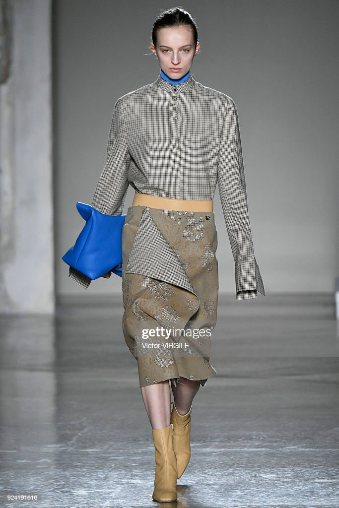 Gabriele Colangelo - Runway - Milan Fashion Week Fall/Winter 2018/19