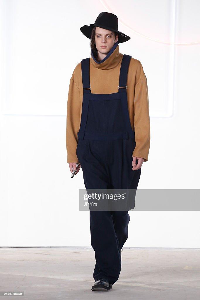 General Idea - Runway - New York Fashion Week Men's Fall/Winter 2016 : News Photo