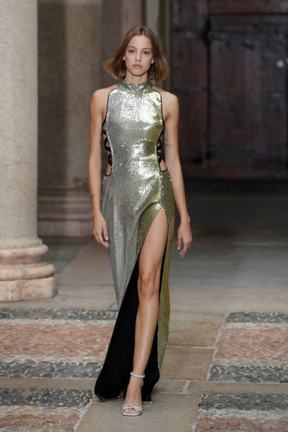 ITA: Genny - Runway - Milan Fashion Week - Spring / Summer 2022