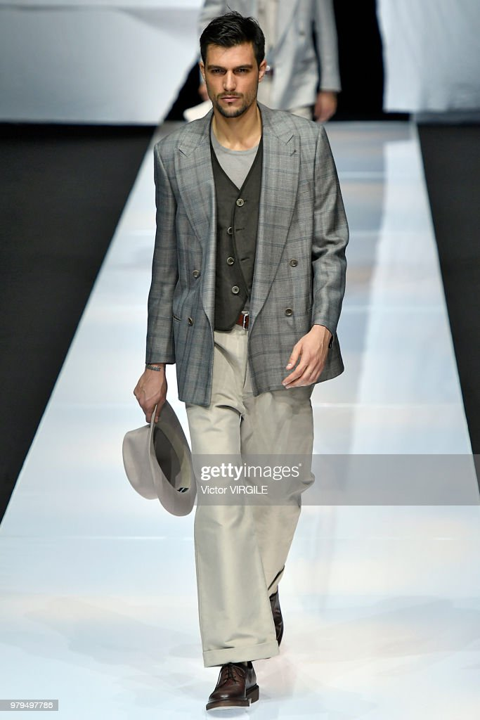 Giorgio Armani - Runway - Milan Men's Fashion Week Spring/Summer 2019