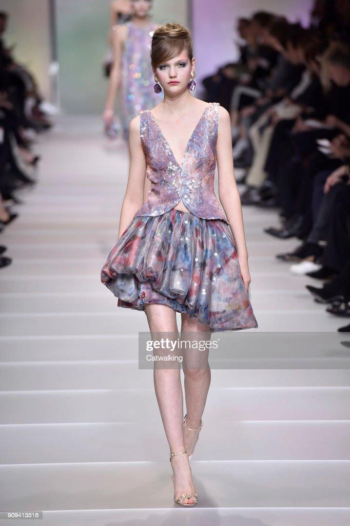Giorgio Armani Prive - Spring Summer 2018 Runway - Paris Haute Couture Fashion Week
