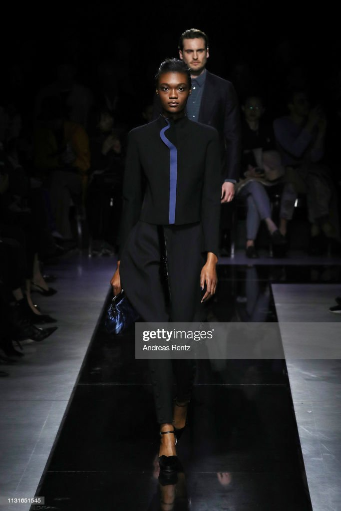 Giorgio Armani - Runway: Milan Fashion Week Autumn/Winter 2019/20 : News Photo
