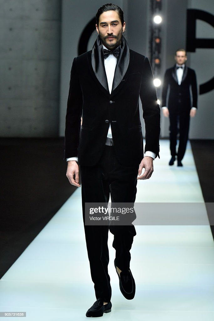 Giorgio Armani - Runway - Milan Men's Fashion Week Fall/Winter 2018/19