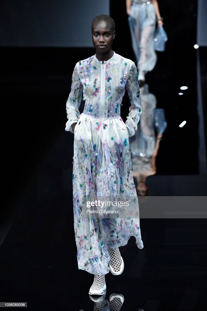Giorgio Armani - Runway - Milan Fashion Week Spring/Summer 2019