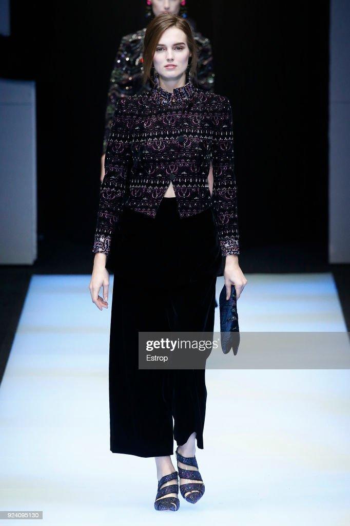 Giorgio Armani - Runway - Milan Fashion Week Fall/Winter 2018/19 : ニュース写真