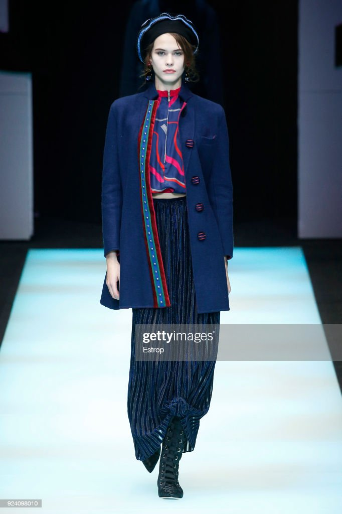 Giorgio Armani - Runway - Milan Fashion Week Fall/Winter 2018/19 : ニュース写真