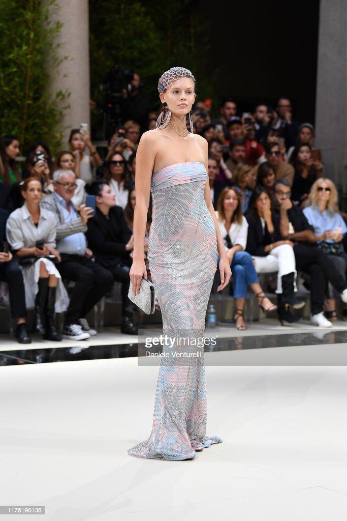Giorgio Armani - Runway - Milan Fashion Week Spring/Summer 2020 : News Photo