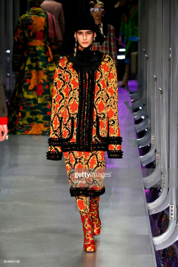 Gucci - Runway - Milan Fashion Week Fall/Winter 2017/18 : ニュース写真