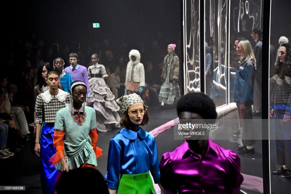 Gucci - Runway - Milan Fashion Week Fall/Winter 2020/21 : News Photo