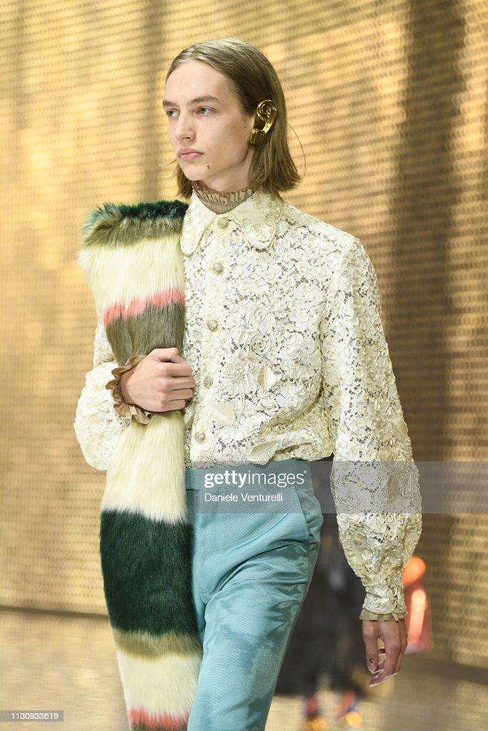 ITA: Gucci - Runway: Milan Fashion Week Autumn/Winter 2019/20