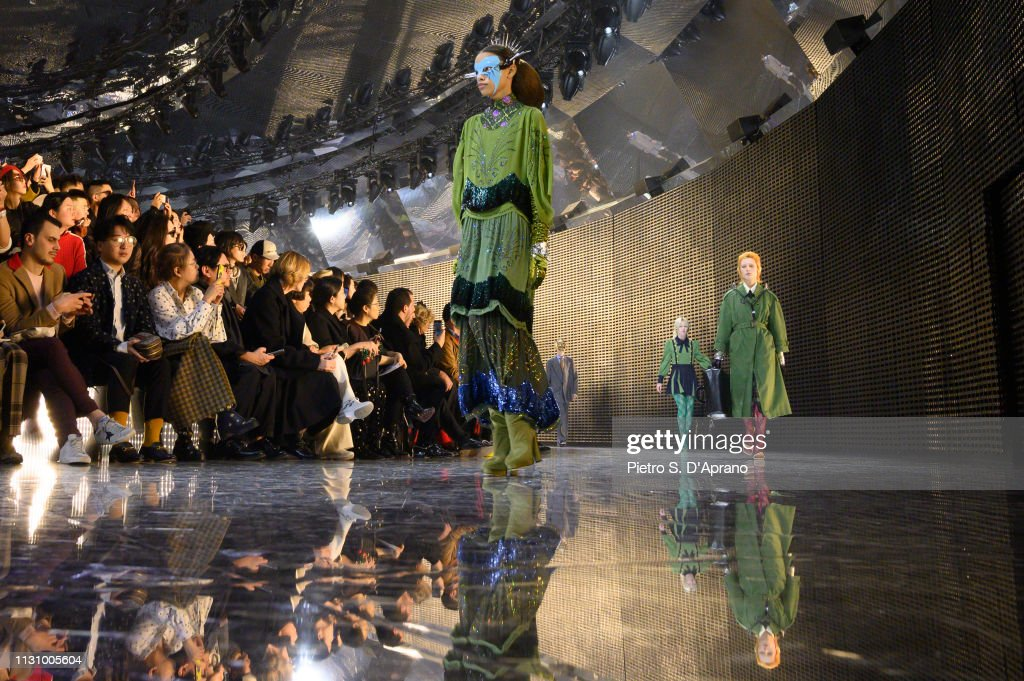 Gucci - Runway - Milan Fashion Week Autumn/Winter 2019/20 : ニュース写真