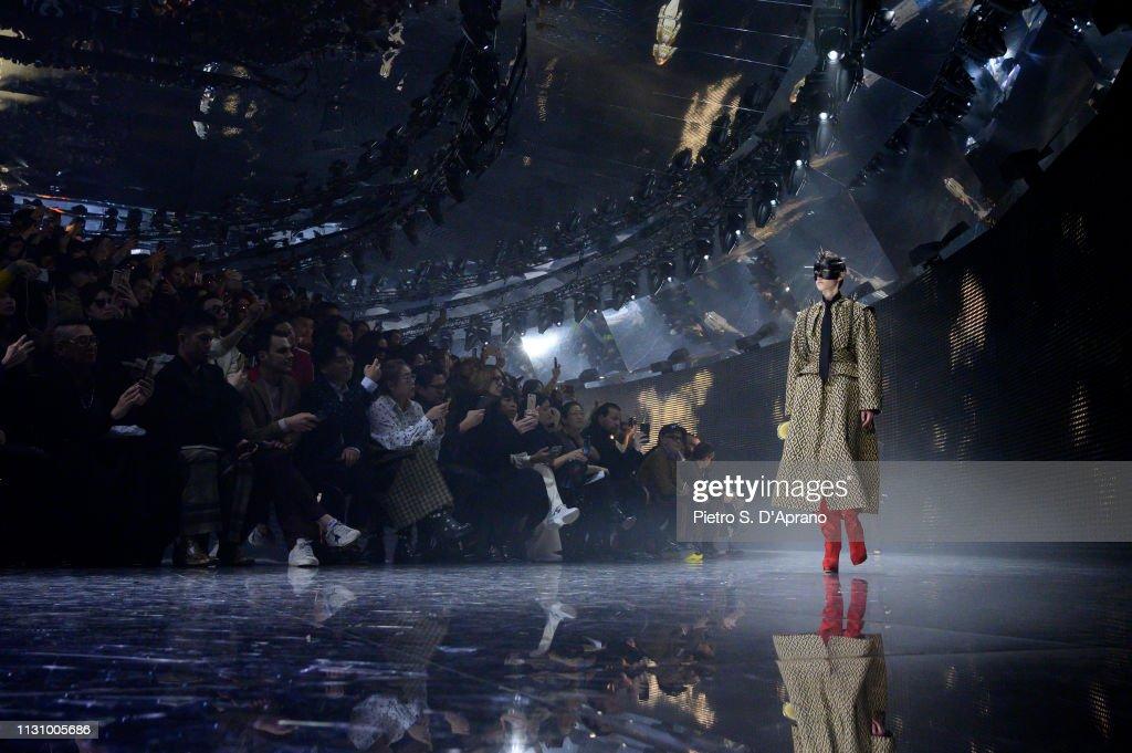 Gucci - Runway - Milan Fashion Week Autumn/Winter 2019/20 : Nachrichtenfoto