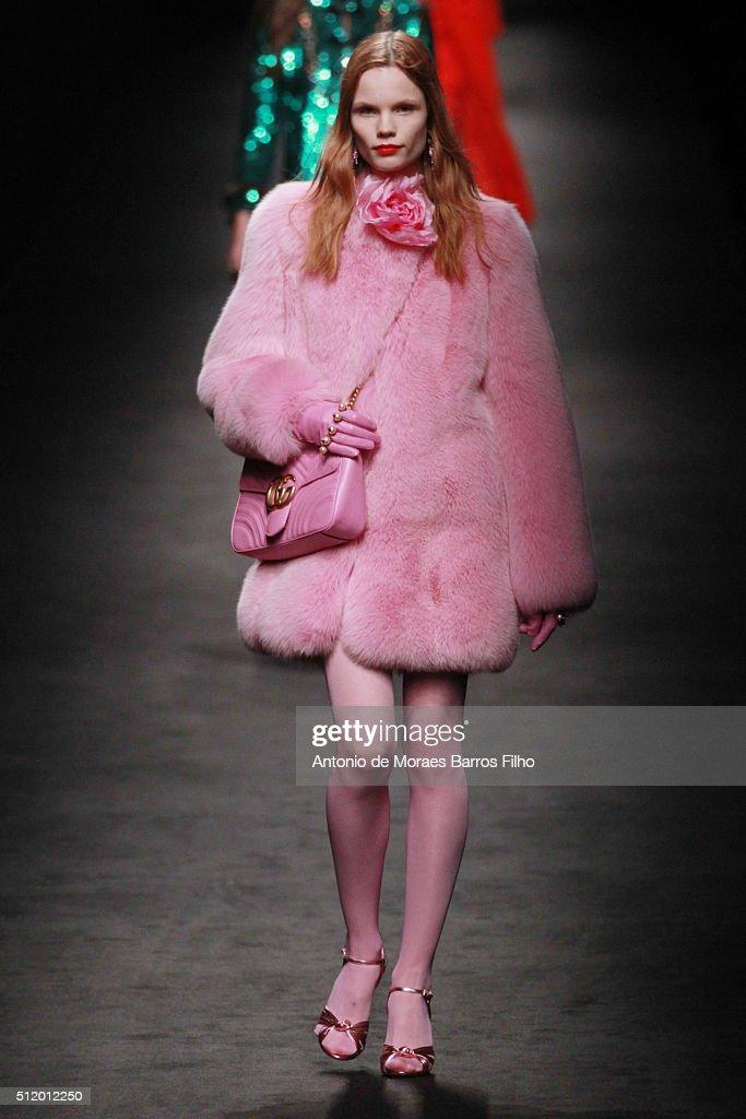 Gucci - Runway - Milan Fashion Week FW16 : News Photo