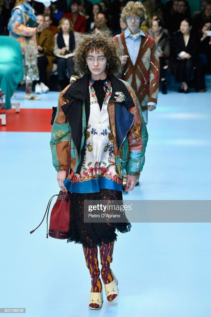 Gucci - Runway - Milan Fashion Week Fall/Winter 2018/19 : News Photo