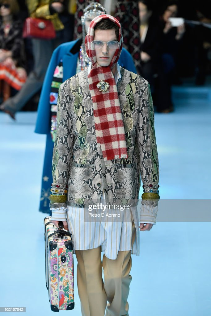 Gucci - Runway - Milan Fashion Week Fall/Winter 2018/19 : News Photo