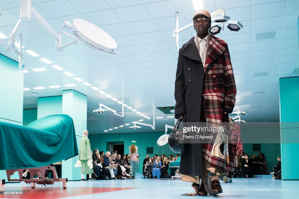 Gucci - Runway - Milan Fashion Week Fall/Winter 2018/19 : Nachrichtenfoto