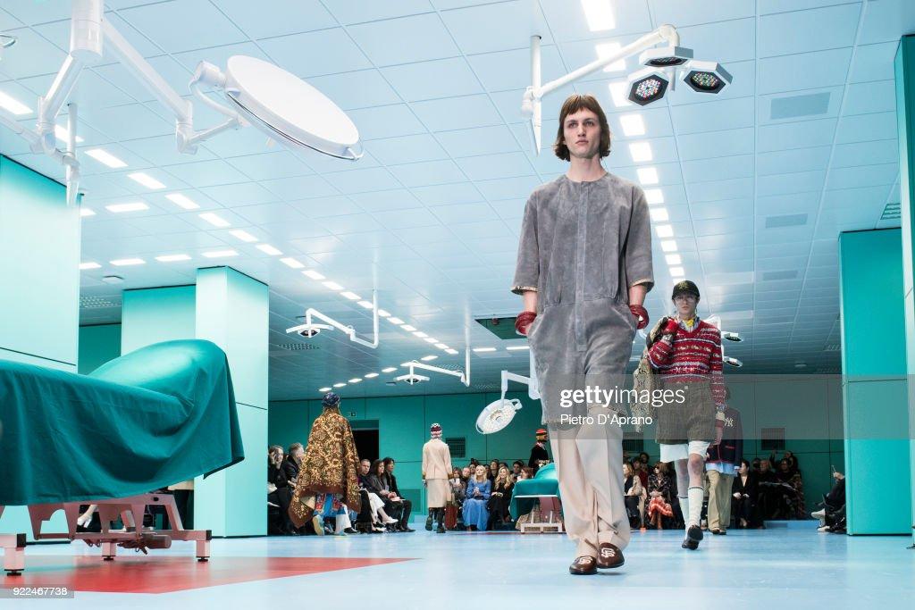 Gucci - Runway - Milan Fashion Week Fall/Winter 2018/19 : Photo d'actualité