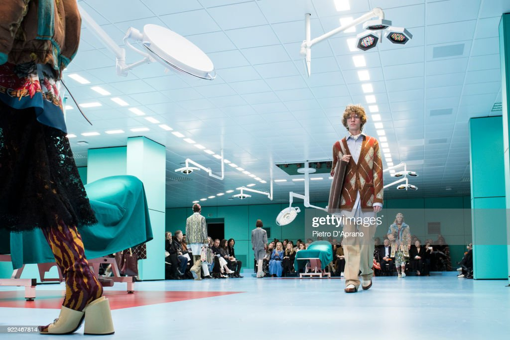 Gucci - Runway - Milan Fashion Week Fall/Winter 2018/19 : ニュース写真