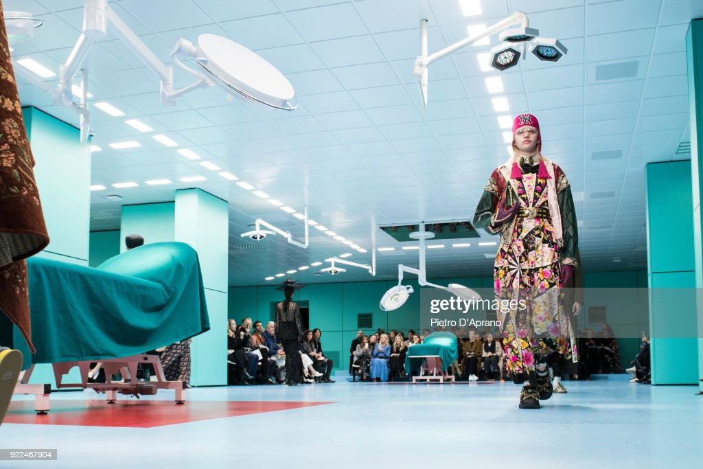 Gucci - Runway - Milan Fashion Week Fall/Winter 2018/19 : Photo d'actualité