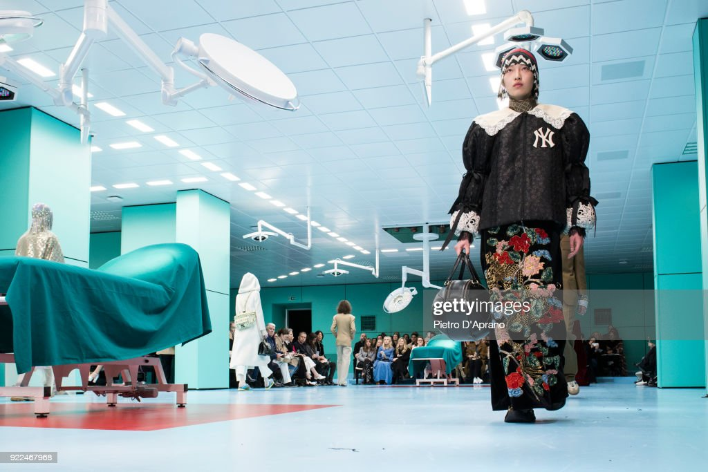Gucci - Runway - Milan Fashion Week Fall/Winter 2018/19 : Fotografía de noticias