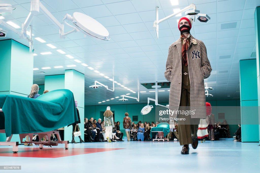 Gucci - Runway - Milan Fashion Week Fall/Winter 2018/19 : Nachrichtenfoto