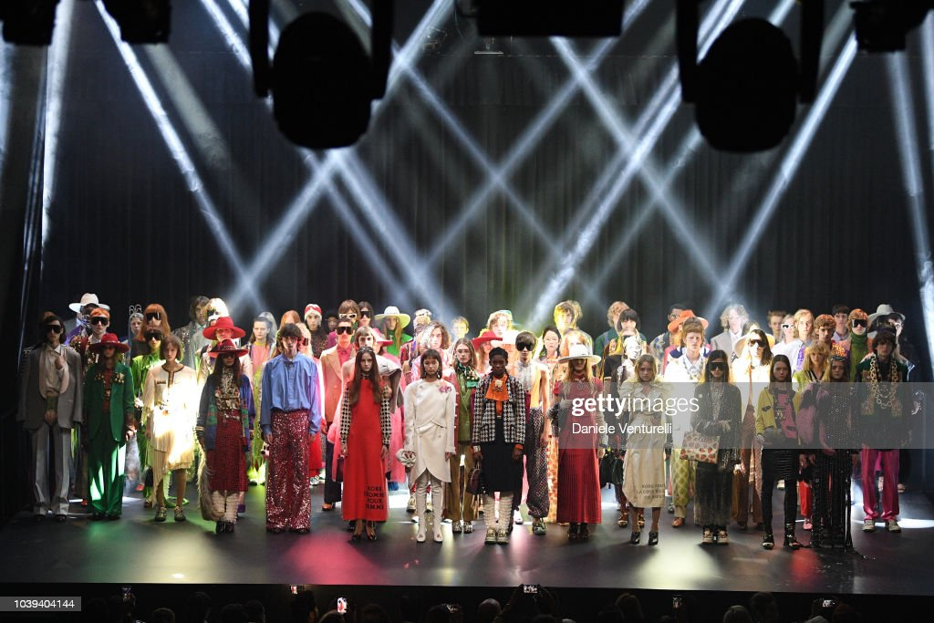 Gucci - Show and Finale - Paris Fashion Week Spring/Summer 2019 : ニュース写真
