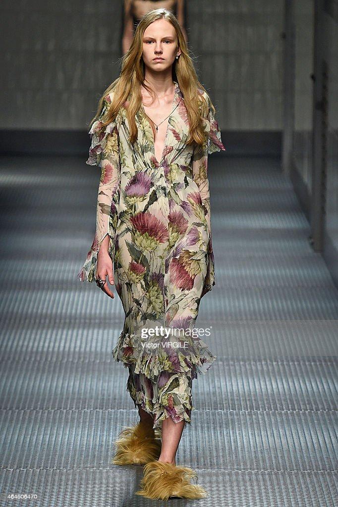 Gucci - Runway - MFW FW2015 : News Photo