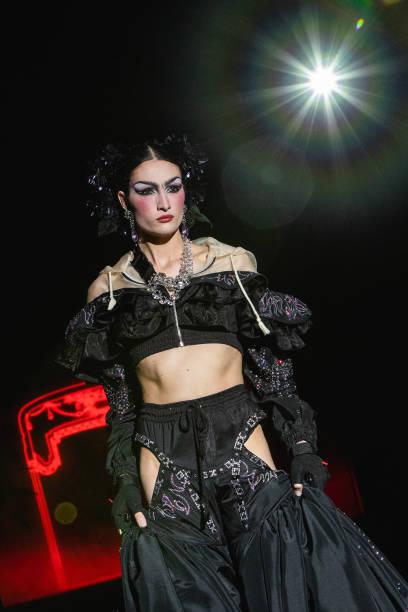 ESP: Samsung EGO Runways - Mercedes Benz Fashion Week Madrid - April 2021